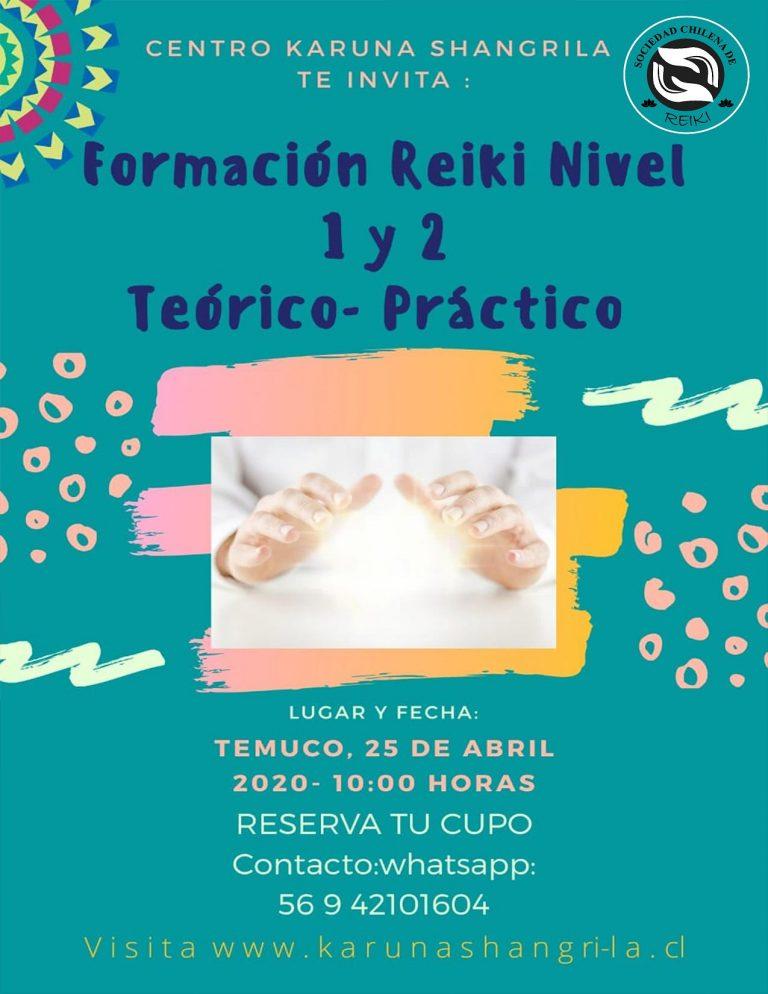 Curso de Reiki Temuco