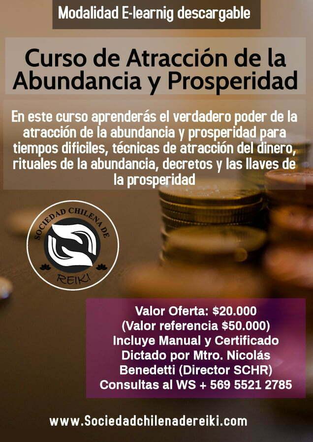 Curso atracción de la Abundancia y Prosperidad