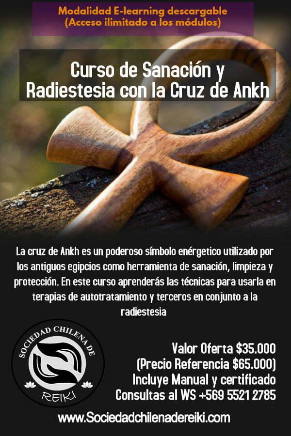 Sanación y Radiestesia con la Cruz de Ankh